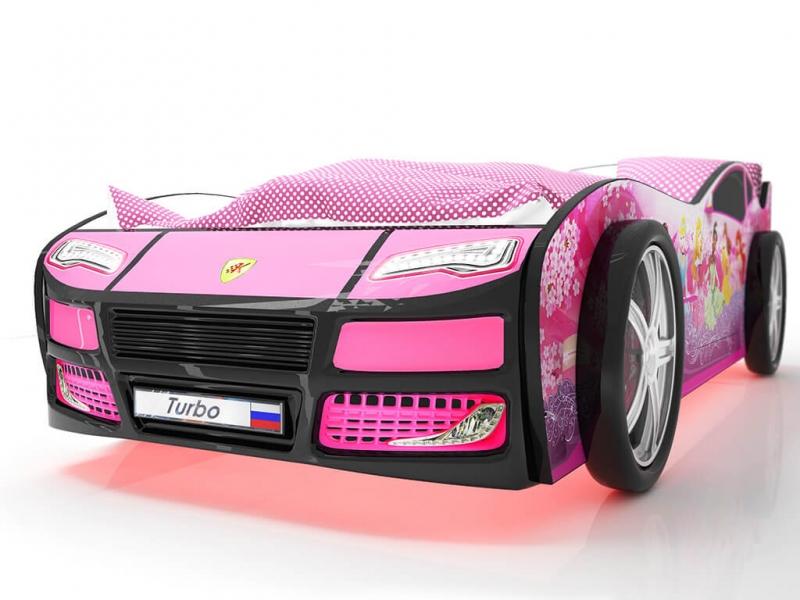 Объемная кровать машина Турбо Фея с хорошими отзывами