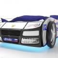 Объемная кровать машина Турбо Полиция с хорошими отзывами