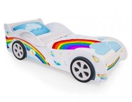 Детская кровать - машина Радуга купить в наличии в Санкт-Петербурге