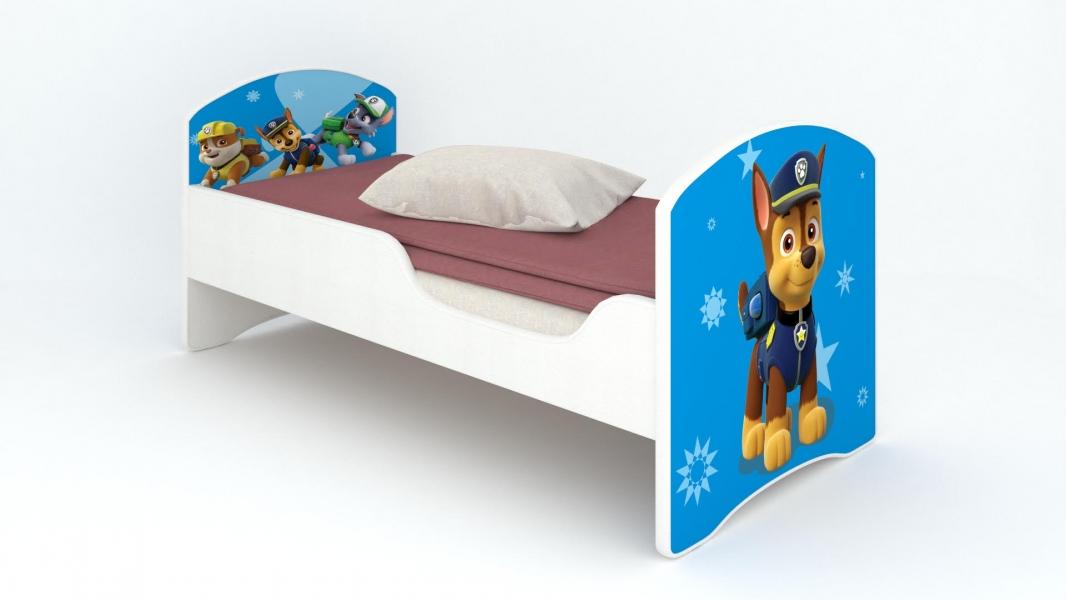 Детская кровать Classic Щенячий патруль. Гонщик с удобной инструкцией