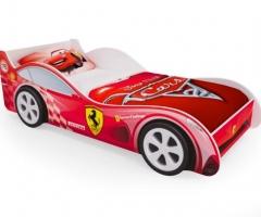 Кровать - автомобиль Красная Феррари
