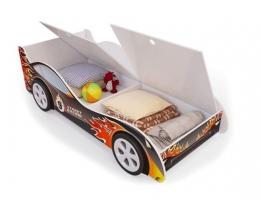 Детская кровать - машина Пламя2 с ящиками купить в наличии в Санкт-Петербурге