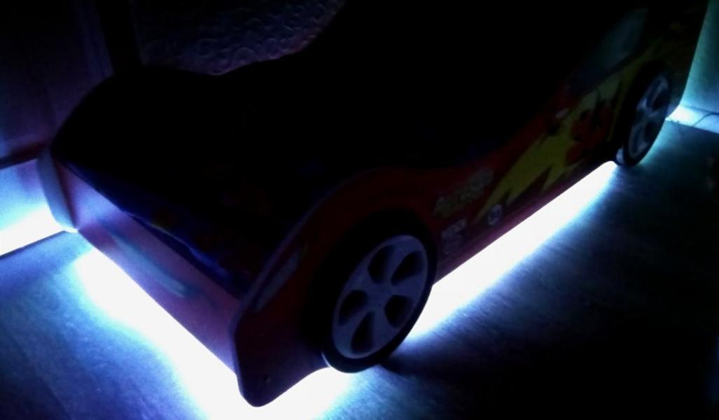 Светодиодная подсветка для кровати - машины в интернет-магазине
