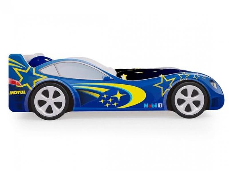 Детская кровать - машина Синяя по отличной цене