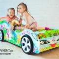 Детская кровать - машина Принцесса1 с профессиональной сборкой