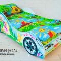 Детская кровать - машина Принцесса1 с официальной гарантией