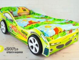 Детская кровать - машина Вихрь купить в наличии в Санкт-Петербурге