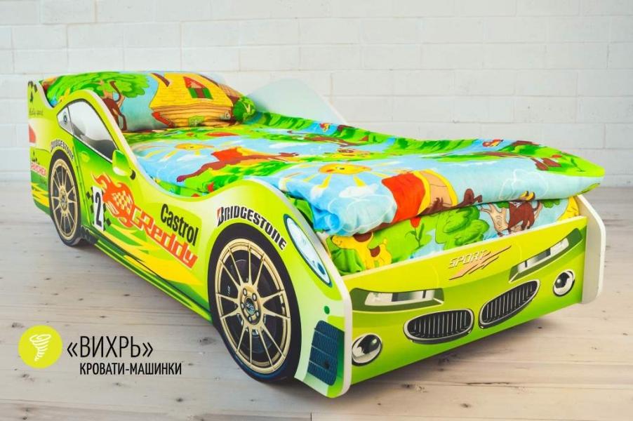 Детская кровать - машина Вихрь по отличной цене