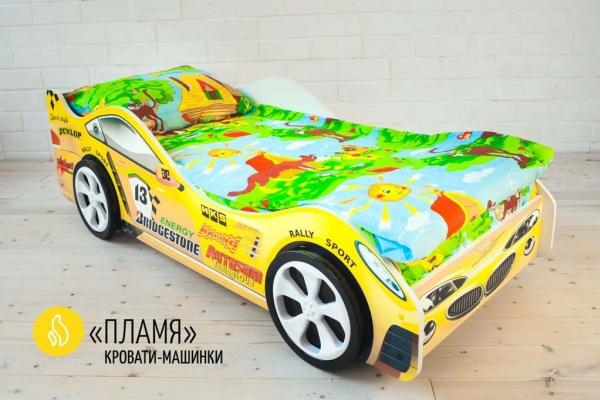 Детская кровать - машина ПЛАМЯ в Санкт-Петербурге с доставкой