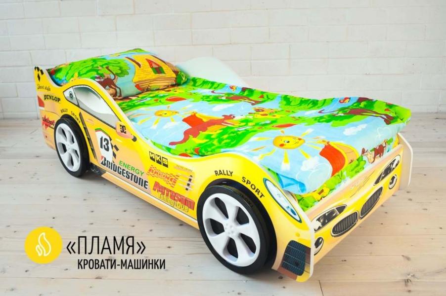 Детская кровать - машина ПЛАМЯ с официальной гарантией