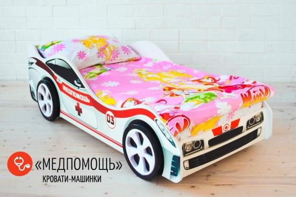 Детская кровать - машина Медпомощь в Санкт-Петербурге с доставкой