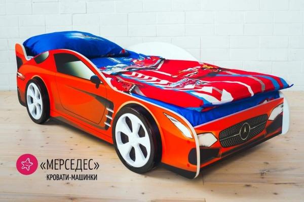 Детская кровать - машина MERCEDES (МЕРСЕДЕС) в Санкт-Петербурге с доставкой