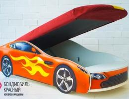 Детская кровать - машина БОНДМОБИЛЬ КРАСНЫЙ купить в наличии в Санкт-Петербурге