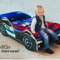 Детская кровать - машина Бельмарко ФСБ с профессиональной сборкой