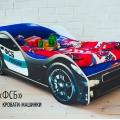Детская кровать - машина Бельмарко ФСБ без запаха
