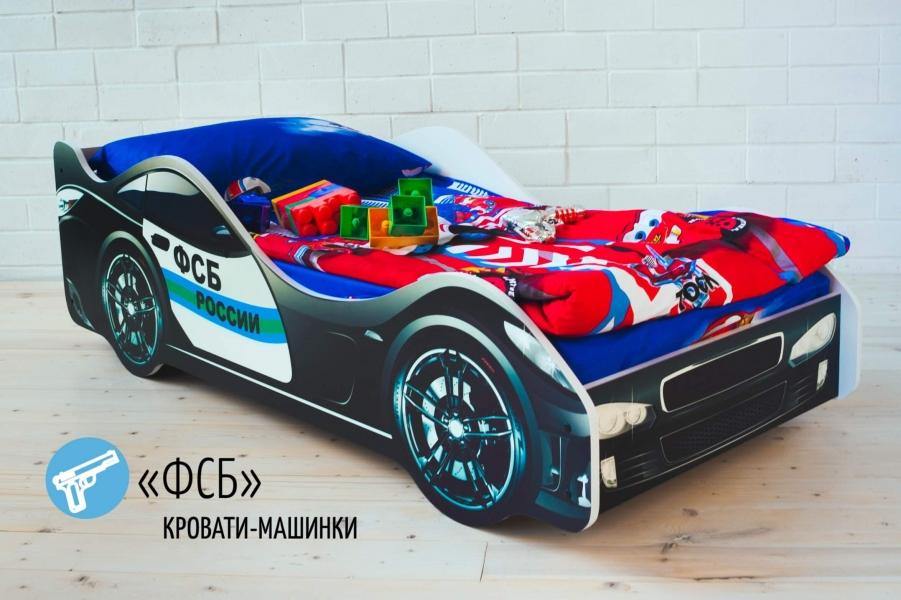 Детская кровать - машина Бельмарко ФСБ по отличной цене