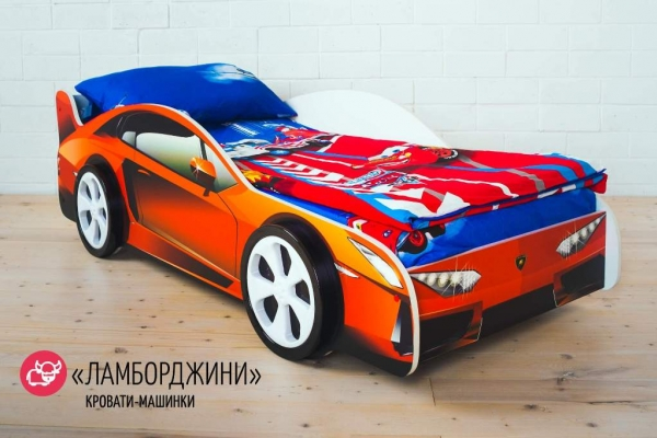 Детская кровать-машина LAMBORGHINI (ЛАМБОРДЖИНИ) в Санкт-Петербурге с доставкой