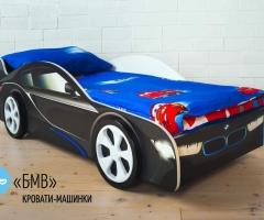 Детская кровать - машина BMW (БМВ)