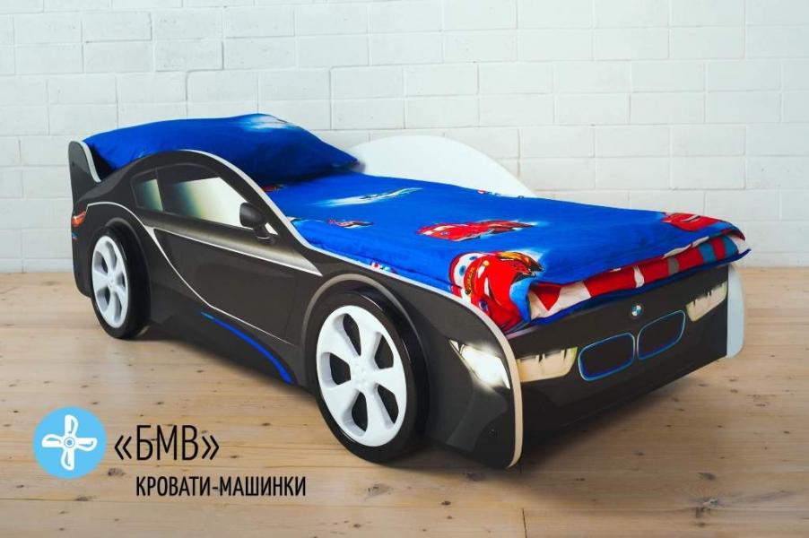 Кровать машина для мальчика BMW (БМВ) с хорошими отзывами