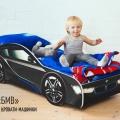 Кровать машина для мальчика BMW (БМВ) по отличной цене