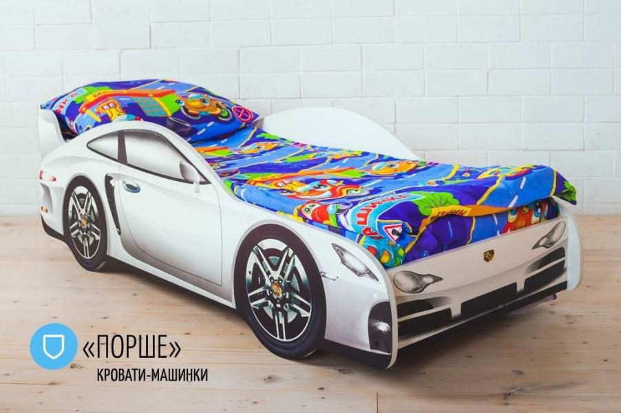 Детская кровать - машина PORSCHE (ПОРШЕ) в интернет-магазине