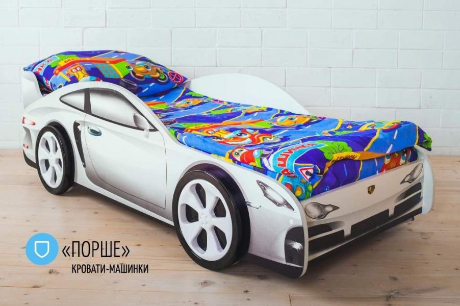 Детская кровать - машина PORSCHE (ПОРШЕ) с хорошими отзывами