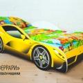 Детская кровать - машина FERRARI (ФЕРРАРИ) по отличной цене