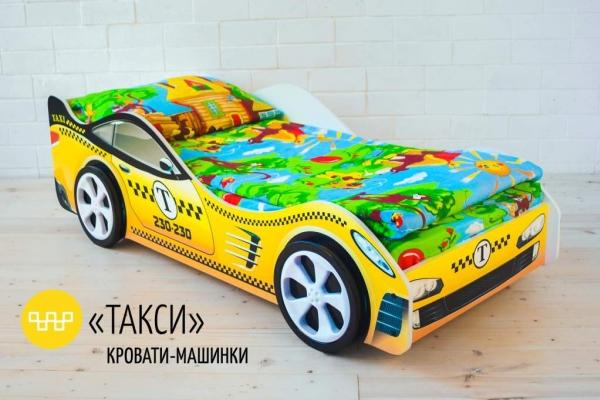 Детская кровать - машина Такси в Санкт-Петербурге с доставкой