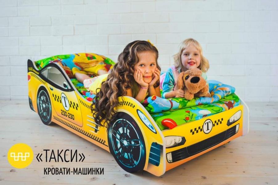 Детская кровать - машина Такси по отличной цене