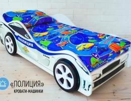 Детская кровать машина ПОЛИЦИЯ - Бельмарко