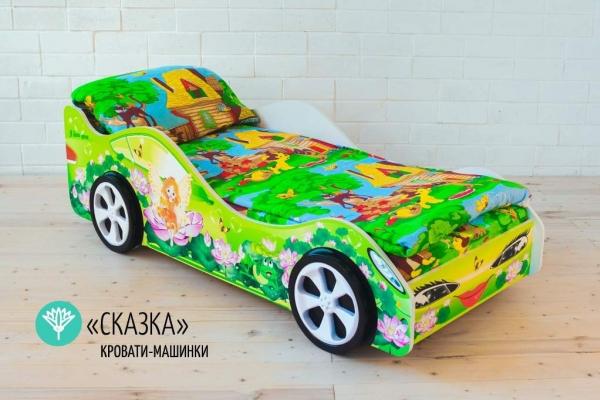 Детская кровать - машина Сказка в Санкт-Петербурге с доставкой