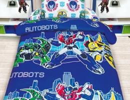 Детское постельное белье Transformers Автоботы / Трансформеры Автоботы (бязь, 100% хлопок) купить в наличии в Санкт-Петербурге