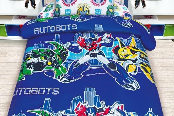 Детское постельное белье Transformers Автоботы / Трансформеры Автоботы (бязь, 100% хлопок) в Санкт-Петербурге с доставкой