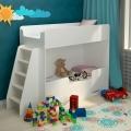 Детская двухъярусная кровать Классическая белая с официальной гарантией