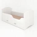 Детская кровать Classic Щенячий патруль с ящиками. Гонщик с удобной инструкцией