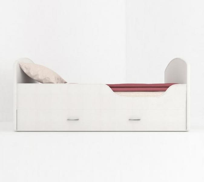 Детская кровать Classic Щенячий патруль с ящиками. Гонщик по отличной цене