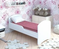 Детская кровать классическая Classic Белая