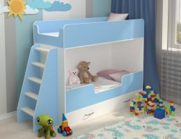Двухъярусная кровать Небо купить в наличии в Санкт-Петербурге
