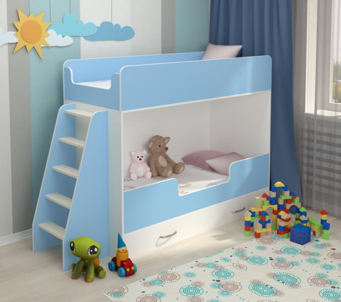 Двухъярусная кровать Небо с официальной гарантией