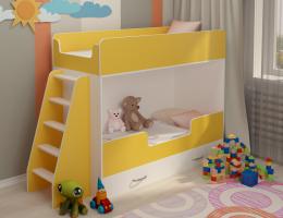 Двухъярусная кровать Апельсин купить в наличии в Санкт-Петербурге
