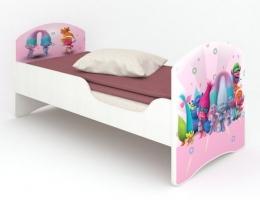 Детская кровать Classic Тролли купить в наличии в Санкт-Петербурге