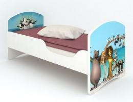 Детская кровать Classic Мадагаскар купить в наличии в Санкт-Петербурге