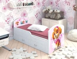 Детская кровать Classic Щенячий патруль с ящиками