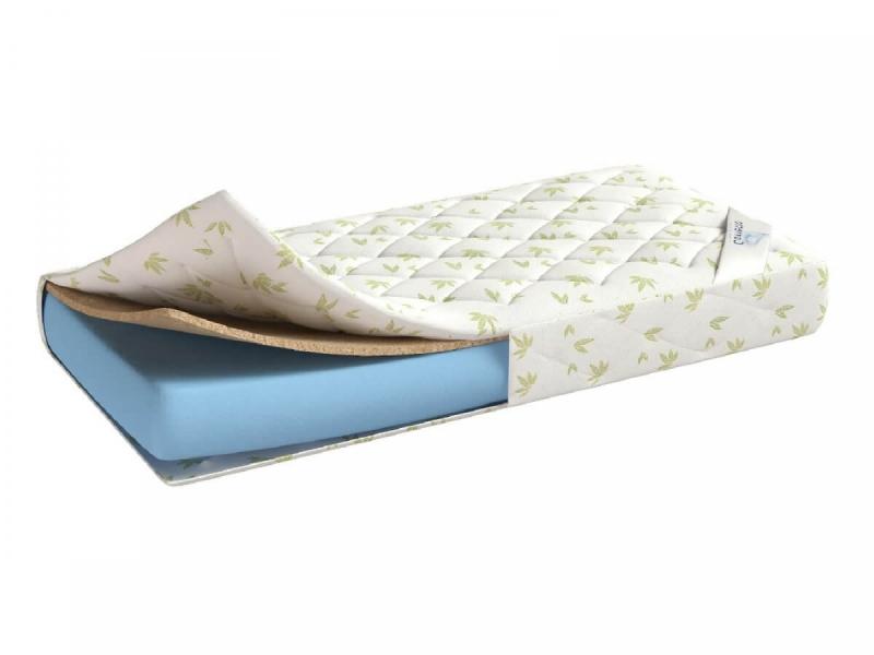 Кровать чердак Белая с кокосовым беспружинным матрасом в комплекте с удобной инструкцией