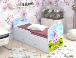 Детская кровать Classic Фея с выдвижными ящиками