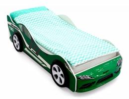 Объемная кровать машина Бельмарко Супра Зеленая купить в наличии в Санкт-Петербурге
