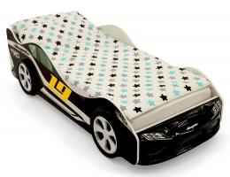 Объемная кровать машина Бельмарко Супра Черная купить в наличии в Санкт-Петербурге