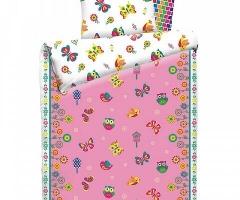 Детское постельное белье Бабочки (бязь, 100% хлопок)