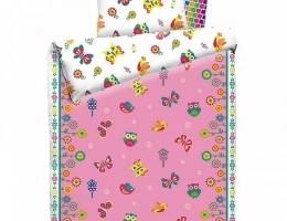 Детское постельное белье Бабочки (бязь, 100% хлопок) купить в наличии в Санкт-Петербурге