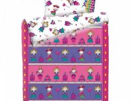 Детское постельное белье Принцессы (бязь, 100% хлопок) купить в наличии в Санкт-Петербурге